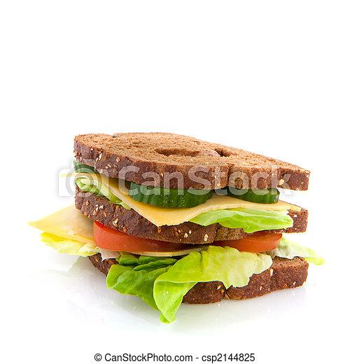 almoço saudável - csp2144825