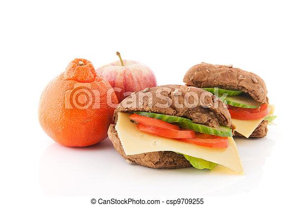 almoço saudável - csp9709255
