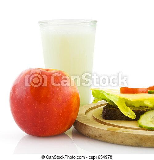 almoço saudável - csp1654978