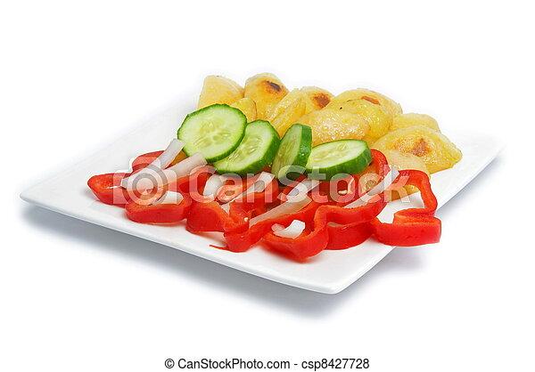 almoço saudável - csp8427728
