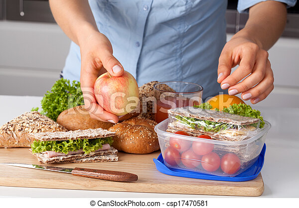 Paquete de almuerzo de trabajo - csp17470581
