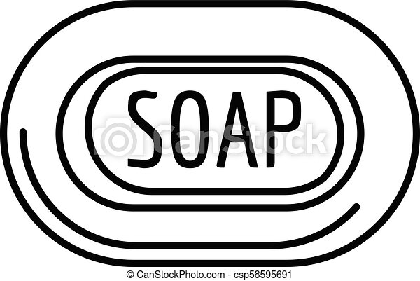 aloe soap icon outline style aloe soap icon outline illustration of aloe soap vector icon for web design isolated on white https www canstockphoto com aloe soap icon outline style 58595691 html