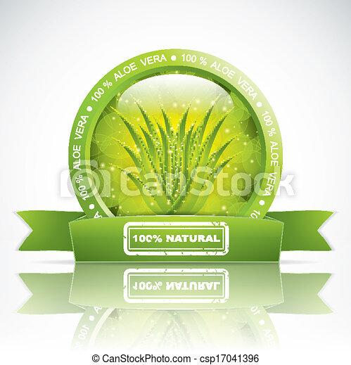 Aloe vera csp17041396