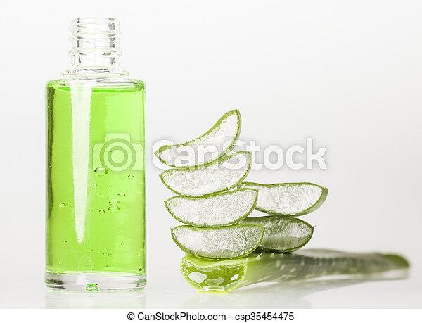 Aloe Vera Essential Oil - csp35454475