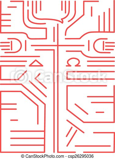 Alpha And Omega Cross Hand Drawn Vector Illustration Or Drawing Of