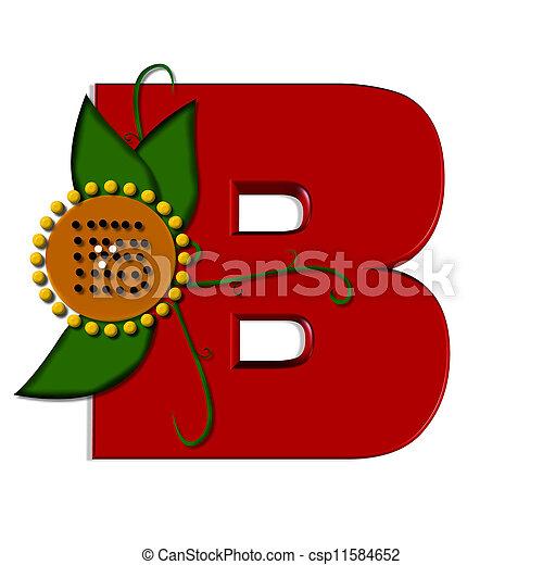 Alpha Sunflower B - csp11584652