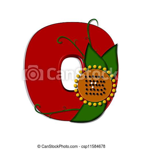 Alpha Sunflower O - csp11584678