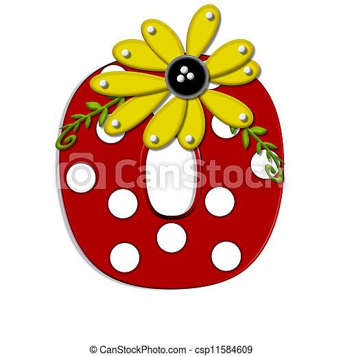 Alpha Sunflower Vine O - csp11584609