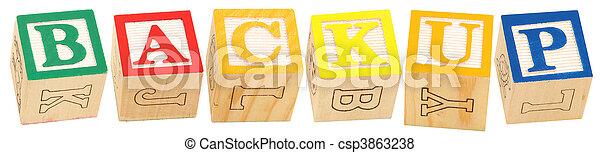 Alphabet Blocks BACKUP - csp3863238