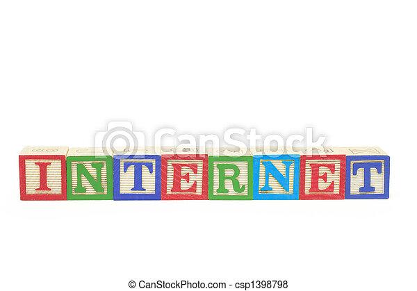 Alphabet Blocks - Interne - csp1398798