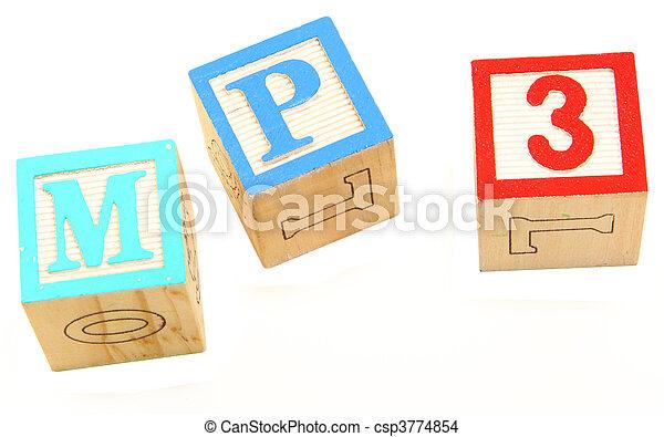 alphabet blocks mp3 - csp3774854