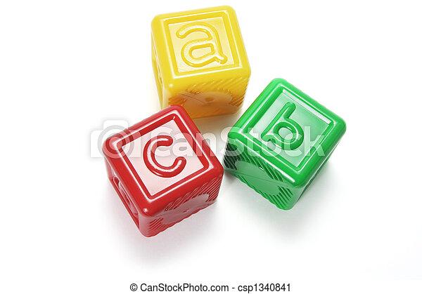 Alphabet Blocks - csp1340841
