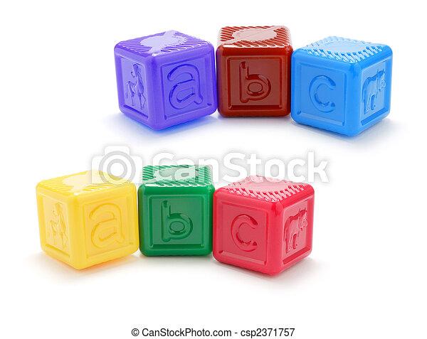 Alphabet Blocks - csp2371757