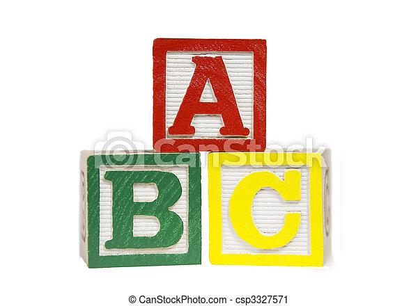 Alphabet Blocks - csp3327571