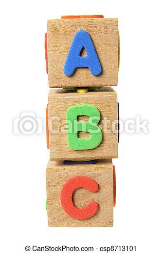 Alphabet Blocks - csp8713101