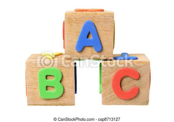 Alphabet Blocks - csp8713127