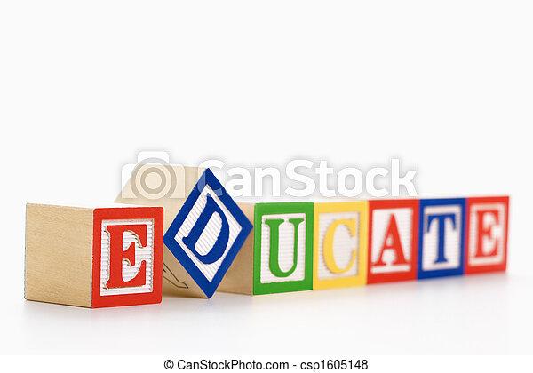 Alphabet blocks. - csp1605148