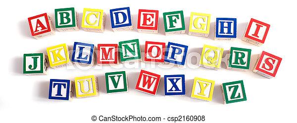 Alphabet Blocks - csp2160908