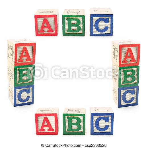 Alphabet Blocks - csp2368528