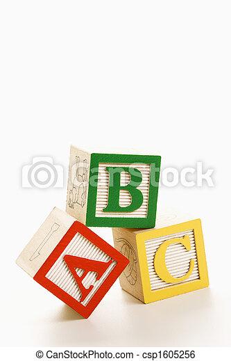 Alphabet blocks. - csp1605256