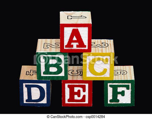 Alphabet Blocks - csp0014284
