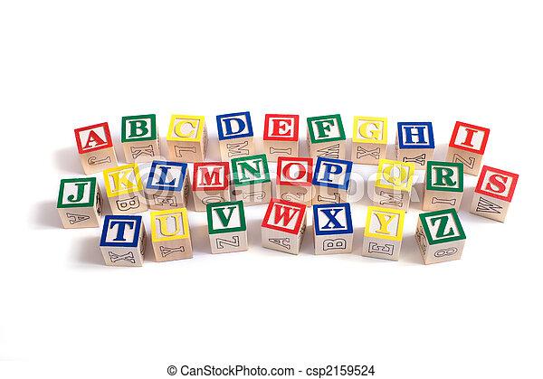 Alphabet Blocks - csp2159524