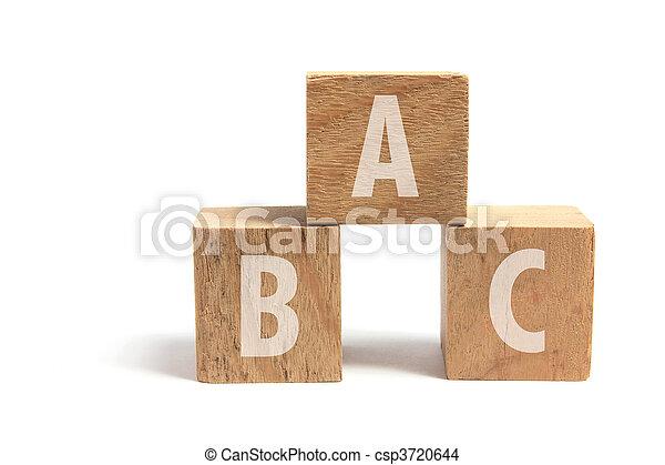 Alphabet Blocks - csp3720644