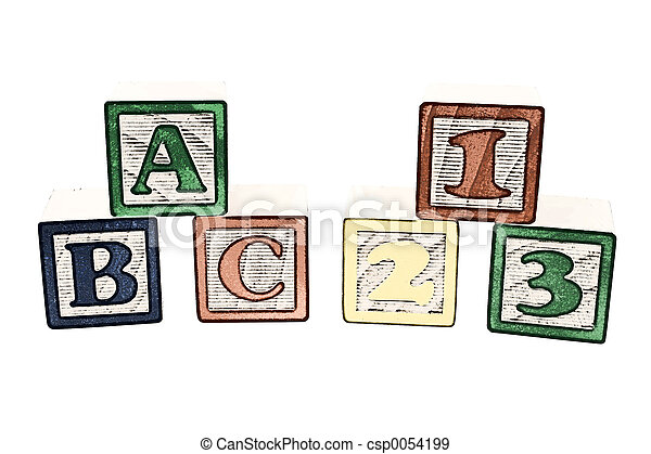 Alphabet Blocks - csp0054199