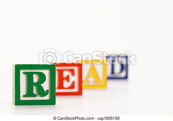 Alphabet blocks. - csp1605159