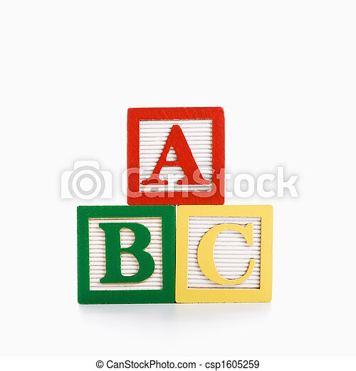 Alphabet blocks. - csp1605259