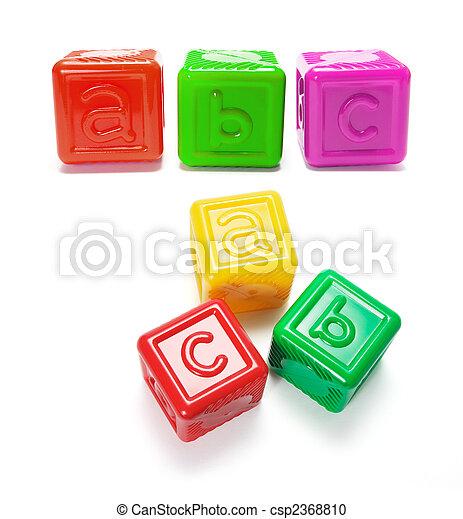 Alphabet Blocks - csp2368810