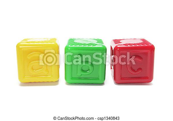 Alphabet Blocks - csp1340843