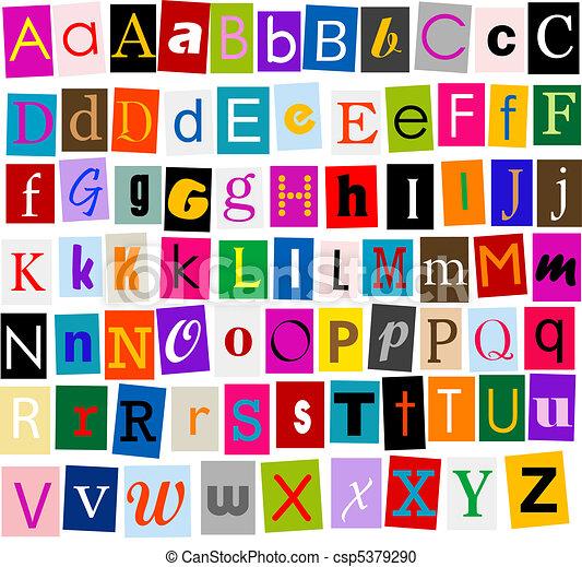 Alphabet - csp5379290