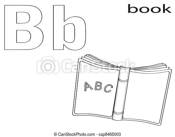Alphabet, färbung, kinder Vektoren - Suche Clipart, Illustration ...