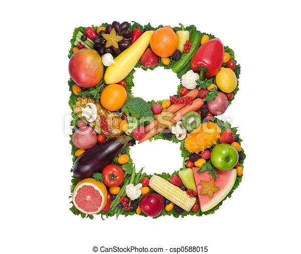 alphabet, gesundheit - csp0588015