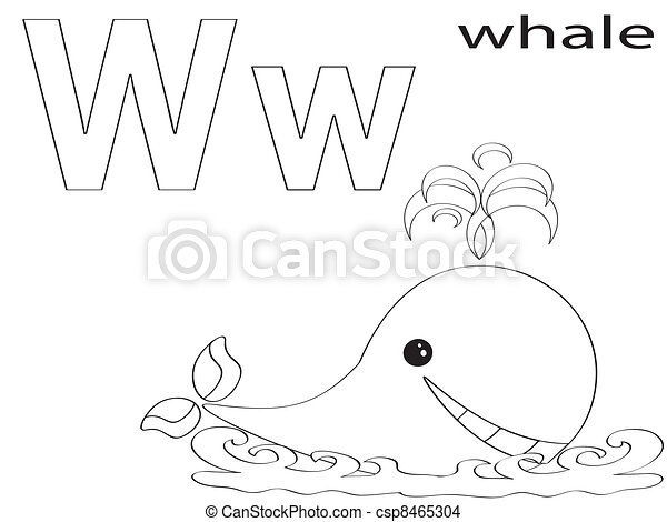 Alphabet, kinder, färbung EPS Vektor - Suche Clipart, Illustration ...
