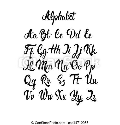 Alphabet Letters Font Free