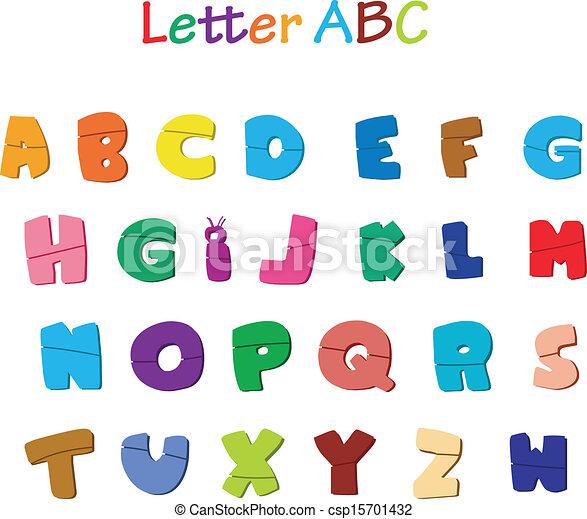 Alphabet letters - csp15701432