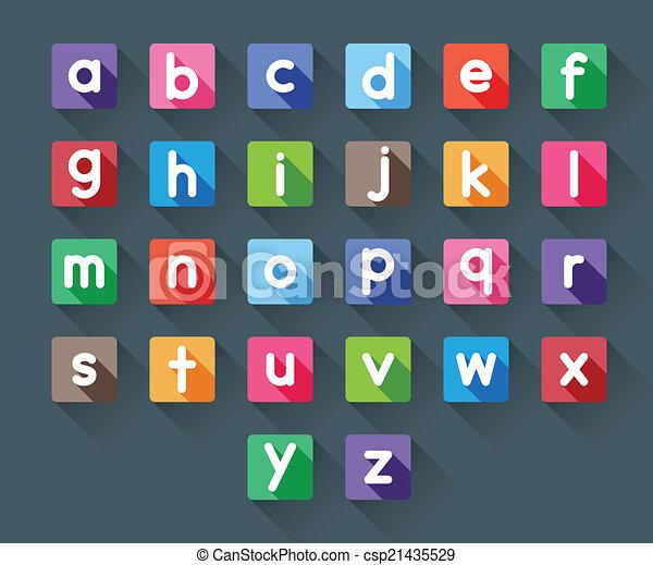 alphabet letters - csp21435529