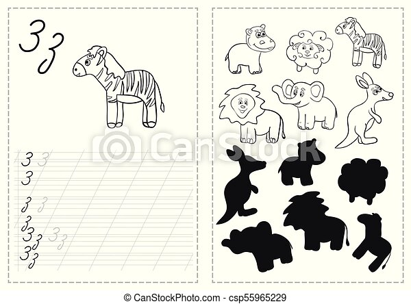 graphic regarding Russian Alphabet Printable identify Alphabet letters tracing worksheet with russian alphabet letters - zebra