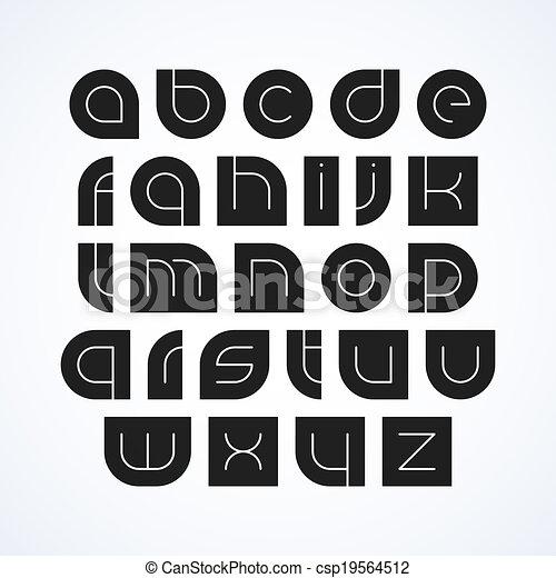 Alphabet letters - csp19564512