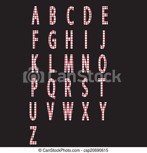 Alphabet letters - csp20690615
