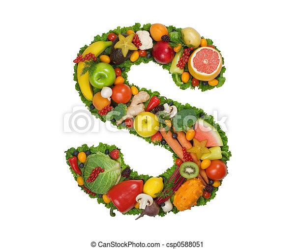 Alphabet of Health - csp0588051