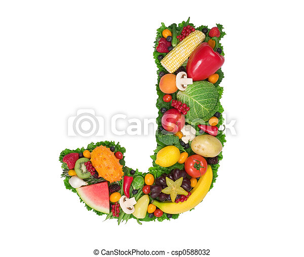 Alphabet of Health - csp0588032