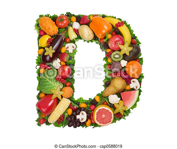 Alphabet of Health - csp0588019