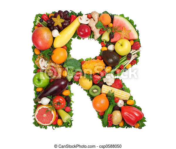 Alphabet of Health - csp0588050