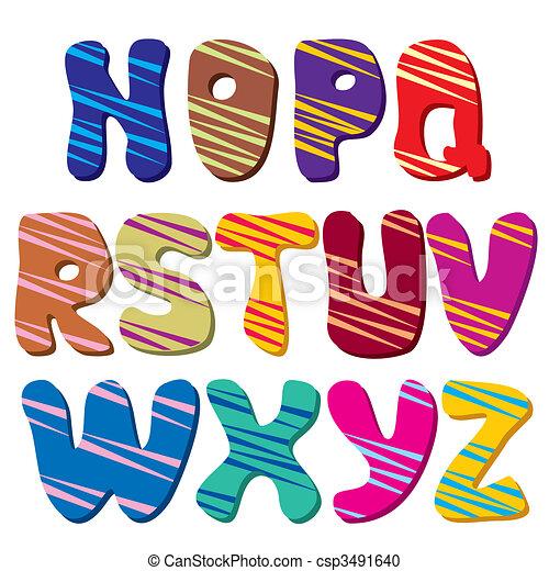 alphabet (Part 2) - csp3491640