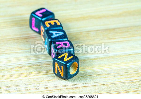 Alphabet - csp38268621