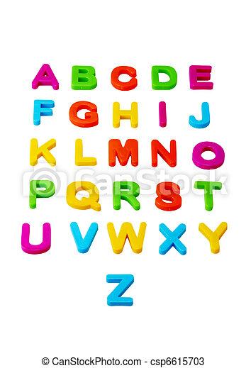 Alphabet - csp6615703
