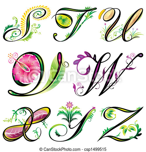 floral alphabet letter y vector stock photos and images 279 floral